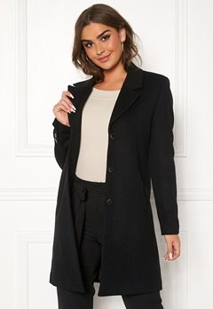 SELECTED FEMME Sasja Wool Coat Black Bubbleroom.no