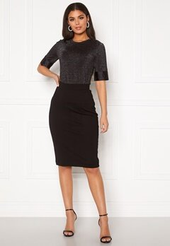 SELECTED FEMME Shelly MW Pencil Skirt Black Bubbleroom.no