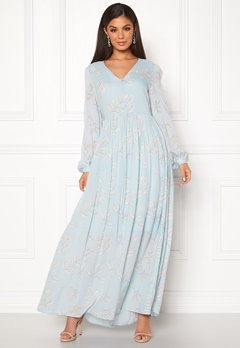 SELECTED FEMME Zamba L/S Maxi Dress Plein Air Bubbleroom.no