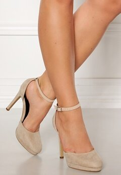 Truffle Shine II High Heel Pumps Nude Bubbleroom.no