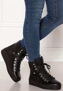 SHOE THE BEAR Agda Leather Shoe 110 BLACK Bubbleroom.no