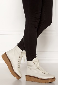 SHOE THE BEAR Bex leather Boots 120 White Bubbleroom.no