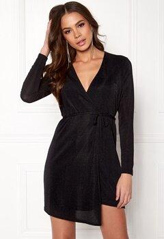 Sisters Point Cofa Dress Black Bubbleroom.no