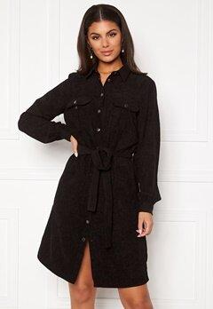 Sisters Point Elma Dress 000 Black Bubbleroom.no