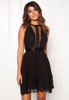 Sisters Point Else Dress 000 Black Bubbleroom.no