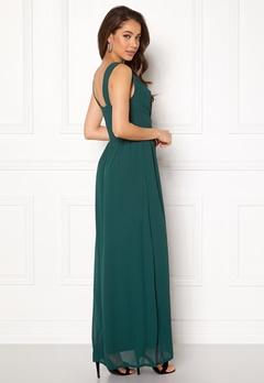 Sisters Point Gally Dress 300 Dark Green Bubbleroom.no