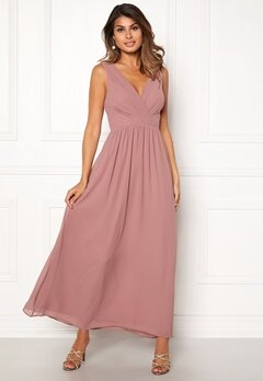 Sisters Point Gally Maxi Dress 587 Old Rose Bubbleroom.no