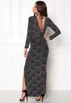 Sisters Point Gelly Dress 001 Black/Silver Bubbleroom.no
