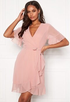 Sisters Point Greto Dress 586 Dusty Rose Bubbleroom.no