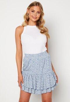 Sisters Point Grow Skirt 410 L.Blue/Cream Bubbleroom.no