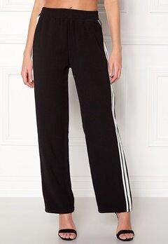 Sisters Point Gruso Pants 001 Black/White Bubbleroom.no