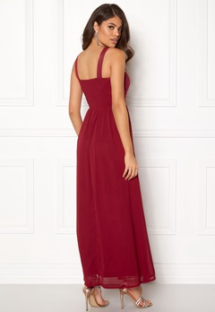 Sisters Point Guff-1 Dress Ruby Wine Bubbleroom.no