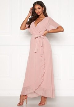 Sisters Point Gush Dress 586 Dusty Rose Bubbleroom.no