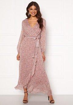 Sisters Point Gush Dress 845 Leo/Rose/Lurex Bubbleroom.no