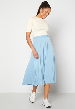 Sisters Point Malou Skirt 402 Light Blue Bubbleroom.no