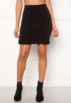 Sisters Point Napo Skirt 001 Black/Silver Bubbleroom.no