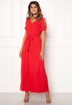Sisters Point Narva Dress Red Bubbleroom.no