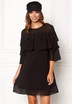 Sisters Point Nax Dress Black Bubbleroom.no