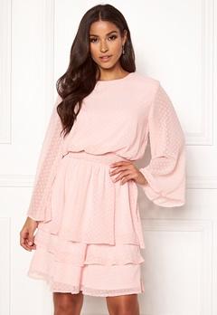 Sisters Point Nicoline Dress 532 Pastel Rose Bubbleroom.no