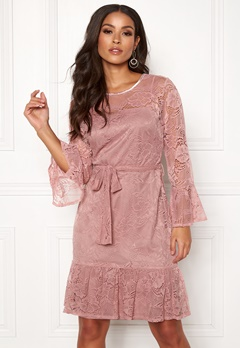 Sisters Point WD-33 Dress 586 Dusty Rose Bubbleroom.no