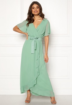 Sisters Point WD-42 Dress 301 Spring Green Bubbleroom.no