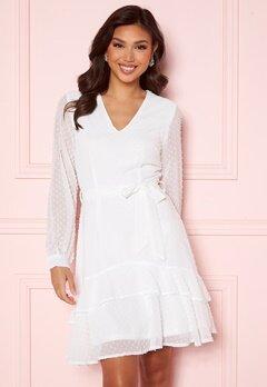 Sisters Point WD Dress 115 Cream Bubbleroom.no