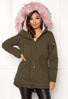 Sixth June Parkas Faux Fur Hood Jkt KABB Bubbleroom.no