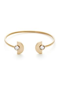 BY JOLIMA Skiathos Bracelet Crystal Gold Bubbleroom.no