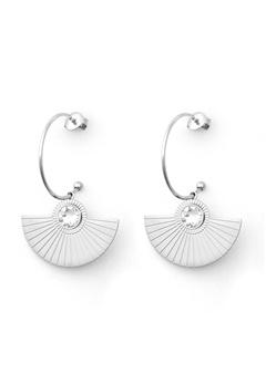BY JOLIMA Skiathos Earring Pendant Silver Bubbleroom.no