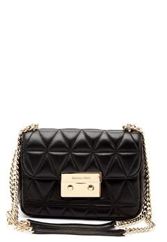 Michael Michael Kors Sloan Shoulder Bag Black Bubbleroom.no