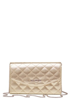 Love Moschino Small Bag With Chain 901 Gold Bubbleroom.no