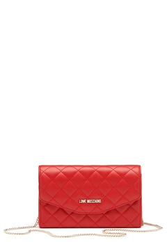Love Moschino Small Bag 500 Red Bubbleroom.no