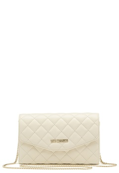 Love Moschino Small Bag 110 Ivory Bubbleroom.no