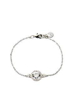 SNÖ of Sweden Lissy Chain Bracelet Silver/Clear Bubbleroom.no