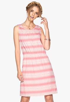 SOAKED IN LUXURY Zona dress Rosa/Offwhite Bubbleroom.no