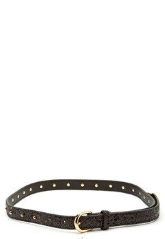 SOFIE SCHNOOR Belt Glitter Black Bubbleroom.no