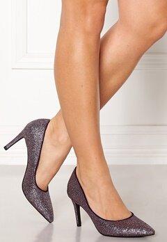 SOFIE SCHNOOR Shoe High Heel Glitter Purple Glitter Bubbleroom.no