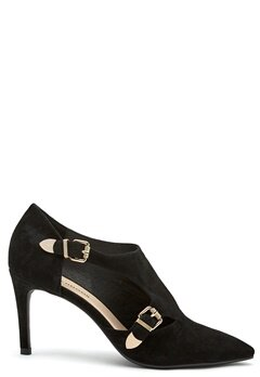 SOFIE SCHNOOR Shoe Stiletto Suede Black Bubbleroom.no