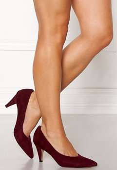 SOFIE SCHNOOR Stiletto Pumps Dark Red Bubbleroom.no