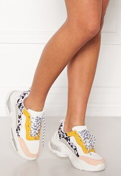 SoWhat 528 Sneakers White/Yellow Bubbleroom.no