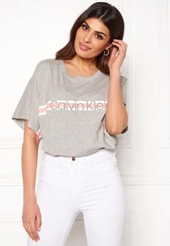 Calvin Klein S/S Crew Neck 020 Grey Heather Bubbleroom.no