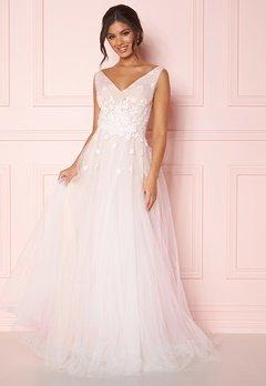 Zetterberg Couture Stella Dress Ivory/Nude Bubbleroom.no
