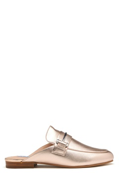Steve Madden Kera Mule Leather Shoes Rose Gold Bubbleroom.no