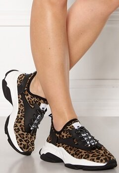 Steve Madden Match Sneaker 969 Leopard Bubbleroom.no