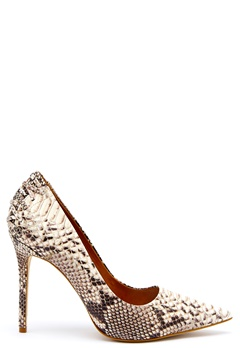 Steve Madden Paiton Pump Natural Snake Bubbleroom.no
