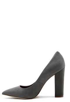 Steve Madden Primpy Pump Grey Bubbleroom.no