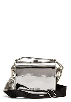Steve Madden Story Handbag Silver Metallic Bubbleroom.no