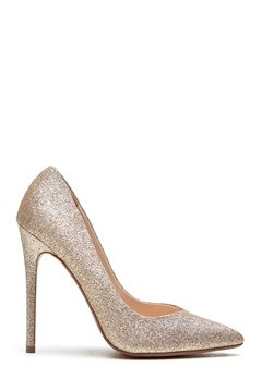 Steve Madden Wicket G Pump Gull glitter Bubbleroom.no