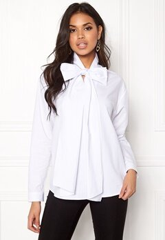 Stylein Jackline Blouse White Bubbleroom.no