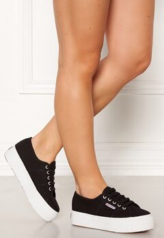 Superga Acotw Linea Sneakers Black-FWhite Bubbleroom.no